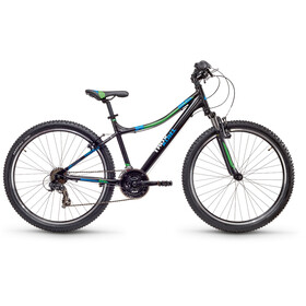 s'cool troX cross 26 21-S Black/Blue/Green Matt